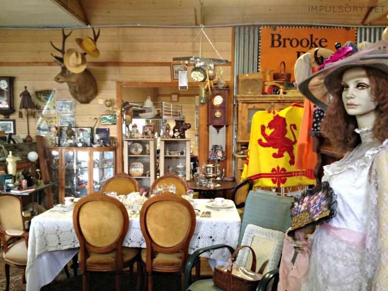 the village pump antiques