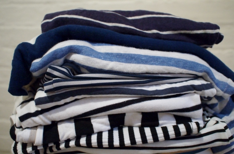 many striped tops